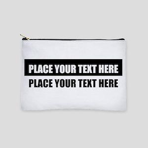 Add text message Makeup Pouch