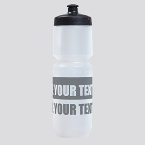 Add text message Sports Bottle
