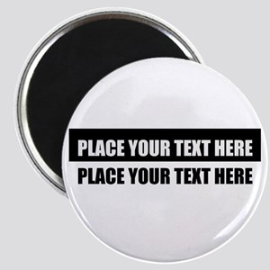 Add text message Magnet