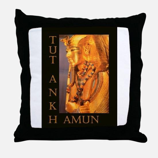 TutAnkhAmun Throw Pillow