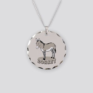Zonkey Necklace Circle Charm