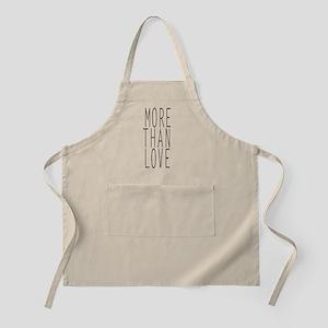 more than love Apron