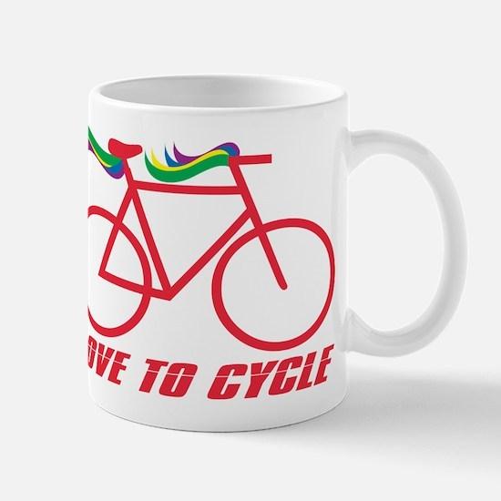 Bicycle Love to Cycle Mug