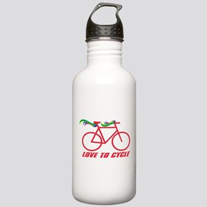 Bicycle Love to Cycle Stainless Water Bottle 1.0L