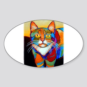 Cat-of-Many-Colors Sticker