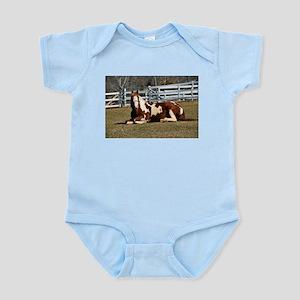 My Paint Horse Sunbathing Infant Bodysuit