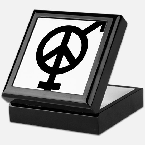 Peace Among and Within The Sexes Keepsake Box