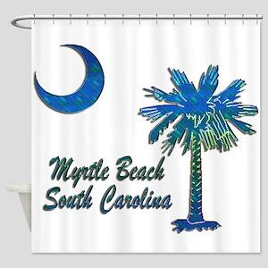 Myrtle Beach 1 Shower Curtain