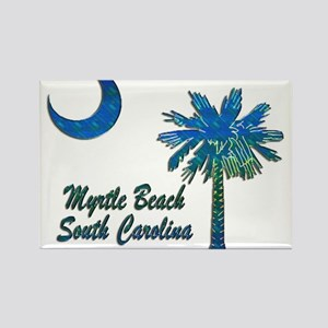Myrtle Beach 1 Rectangle Magnet