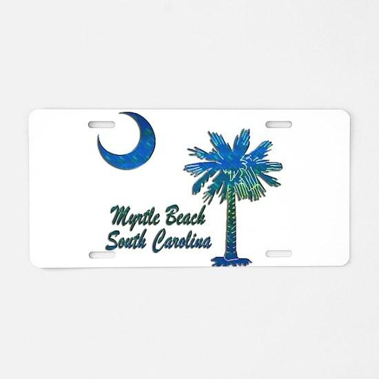 Myrtle Beach 1 Aluminum License Plate