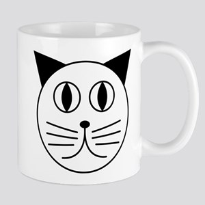 Cute Kitty Cat Face Mug