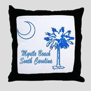 Myrtle Beach 3 Throw Pillow