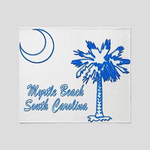 Myrtle Beach 3 Throw Blanket