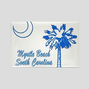 Myrtle Beach 3 Rectangle Magnet