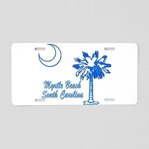 Myrtle Beach 3 Aluminum License Plate