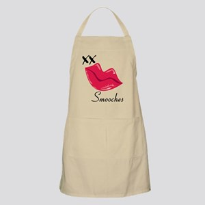 Red Lips Smooches Apron