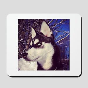 Siberian Husky Puppy Mousepad