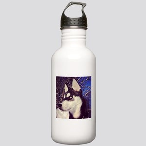 Siberian Husky Puppy Stainless Water Bottle 1.0L