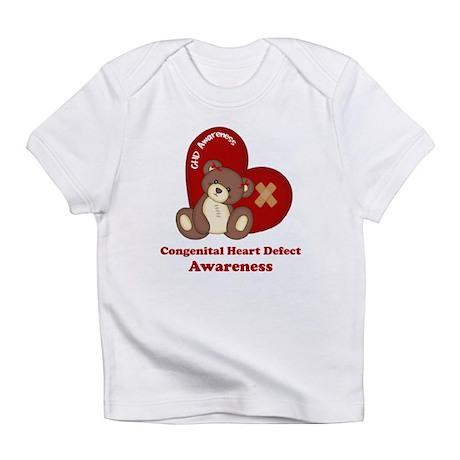 Congenital Heart Defect Awareness Infant T-Shirt