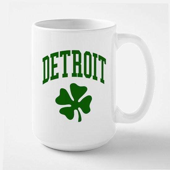 Detroit 313 IRISH Large Mug