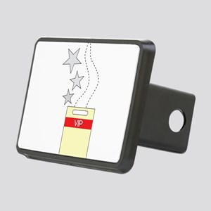 VIP Tag Rectangular Hitch Cover