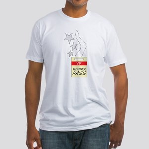 VIP Backstage Pass Fitted T-Shirt