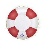 Red and White Life Saver 3.5