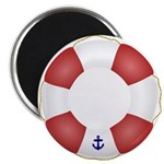 Red and White Life Saver 2.25