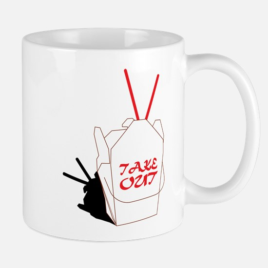 Take Out Food Mug