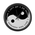 Dont have experience Large Wall Clock