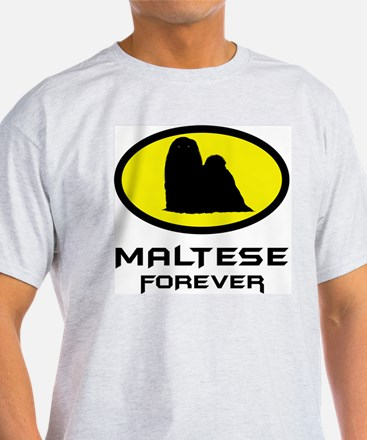 Maltese Ash Grey T-Shirt