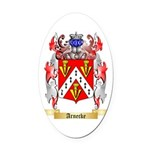 Arnecke Oval Car Magnet