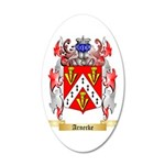 Arnecke 35x21 Oval Wall Decal