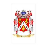 Arnault Sticker (Rectangle 10 pk)