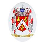 Arnaudin Ornament (Oval)