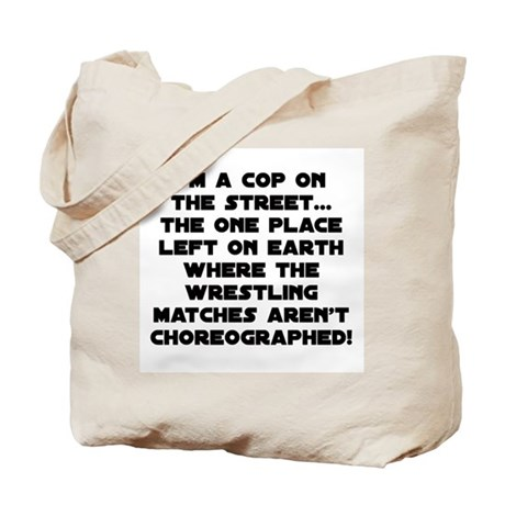Pro Wrestling Gear Tote Bag