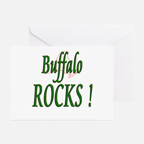 Buffalo Rocks ! Greeting Cards (Pk of 10)