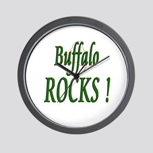 Buffalo Rocks ! Wall Clock