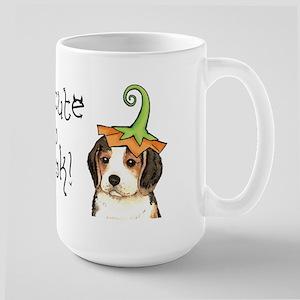 Halloween Beagle Large Mug