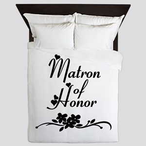 Classic Matron of Honor Queen Duvet