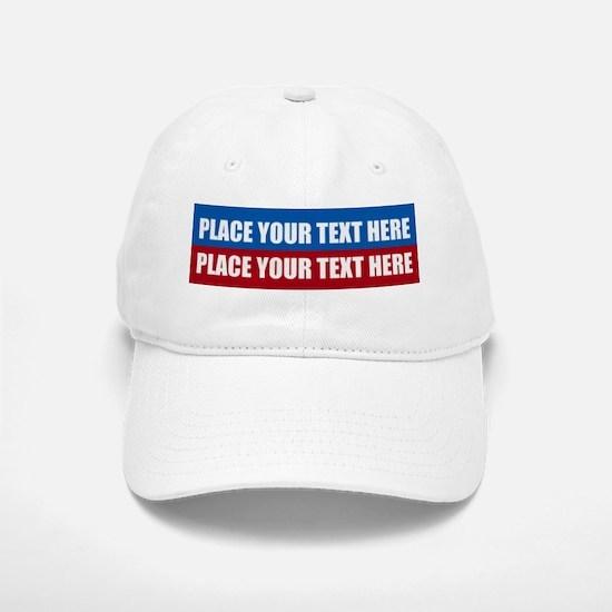 America Text Message Baseball Baseball Cap