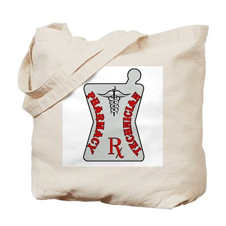 Pharmacy Tech Morter Tote Bag