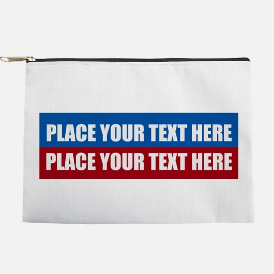 America Text Message Makeup Pouch