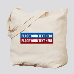 America Text Message Tote Bag