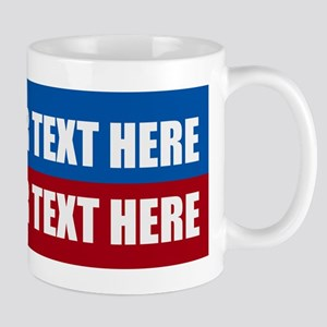 America Text Message 11 oz Ceramic Mug