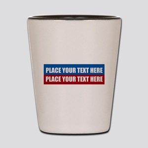 America Text Message Shot Glass