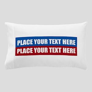 America Text Message Pillow Case