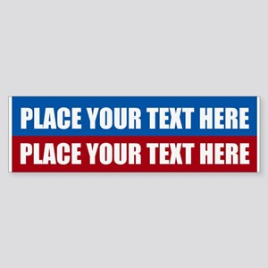 America Text Message Sticker (Bumper)