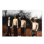 Cowboys and Indians Postcards (Package of 8)