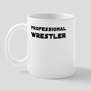Professional Wrestler Mug (No logo on back)
